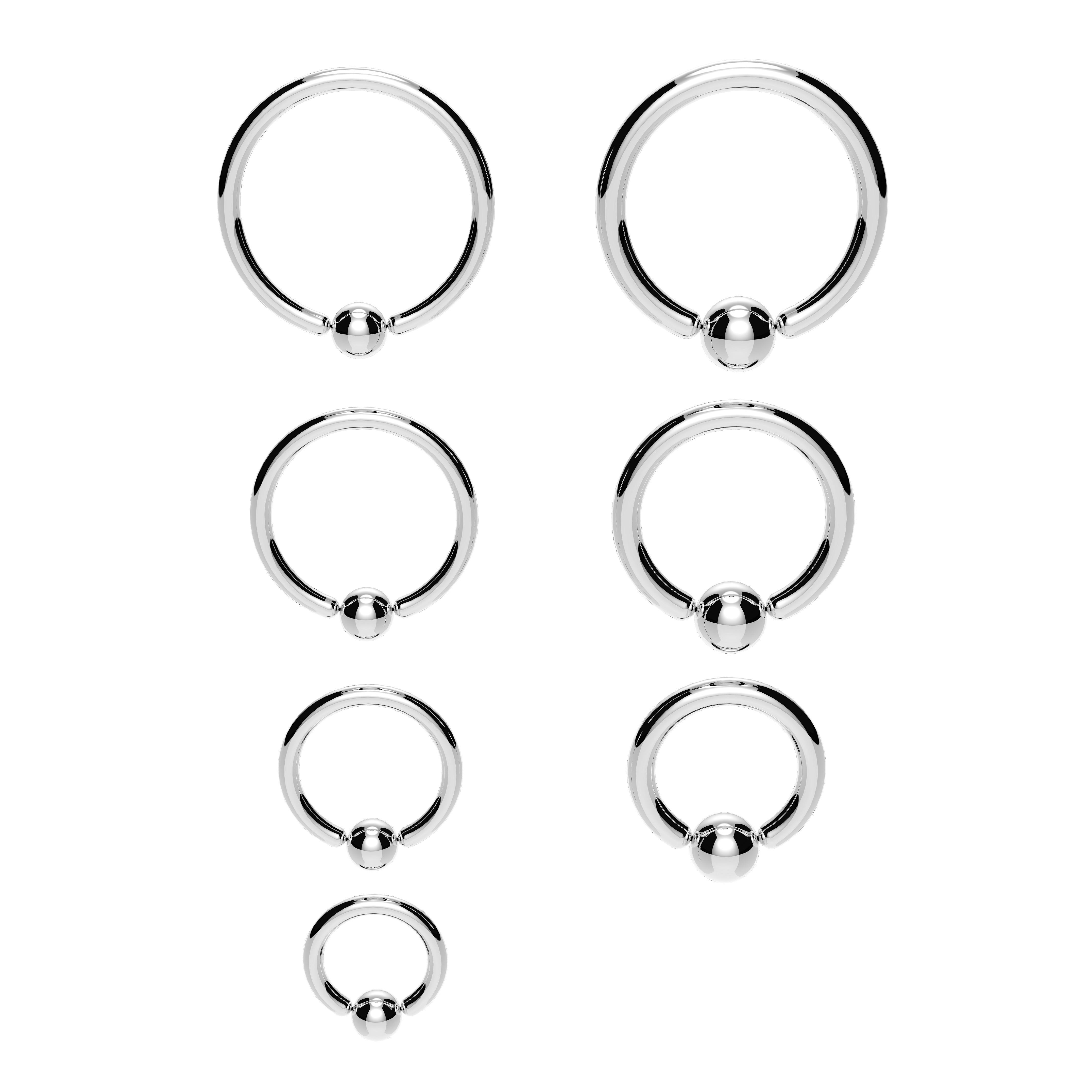 Titanium Bcr Captive Bead Ring